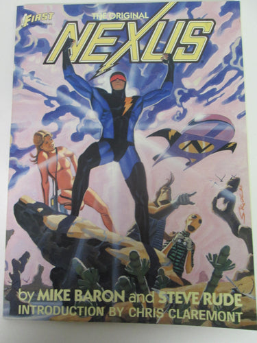 Original Nexus First Graphic Novel by Mike Baron & Steve Rude 1985 PB