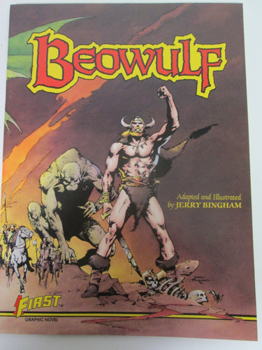 Beowulf First Graphic Novel by Jerry Bingham 1984 PB
