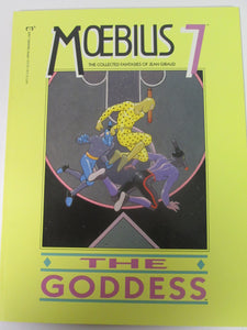 Moebius 7 The Goddess The Collected Fantasies of Jean Giraud Epic Graphic Novel 1990 PB