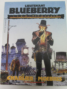 Lieutenant Blueberry The Iron Horse Epic Graphic Novel by Charlier & Moebius 1991 PB