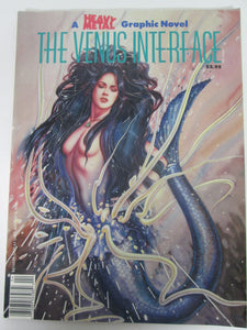 The Venus Interface A Heavy Metal Graphic Novel Vol 5 #4 1989 PB