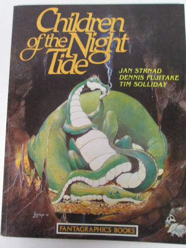 Children of the night Tide Fantagraphics Graphic Novel by Jan Strnad, Fujitake & Solliday 1986 PB
