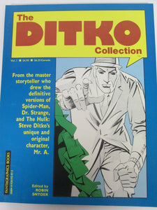 The Ditko Collection Vol 1 Fantagraphics  by Robin Snyder 1985 PB