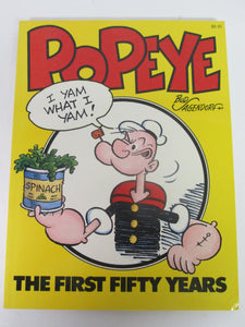 Popeye The First Fifty Years by Bud Agendorf 1979 PB