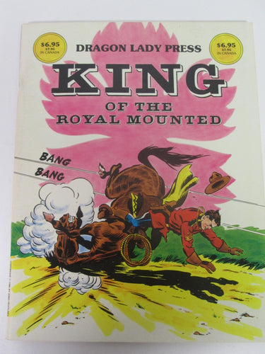 KING of the Royal Mounted Comic Strips Book 1985 PB