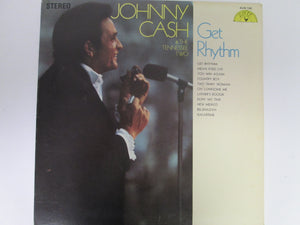Johnny Cash & The Tennessee Two Get Rhythm Record Album 1969