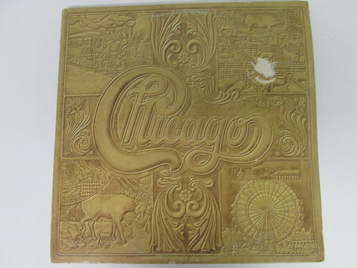 Chicago Self Titled Double Record Album 1974 C232810