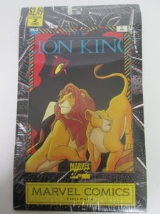 Lion King Marvel Comic Two Pack Set #1&2 Sealed 1994