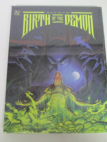 Batman Birth of the Demon GN by O'Neil & Breyfogle HC 1992