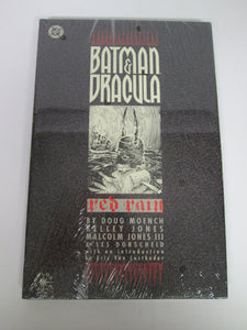 Batman & Dracula Red Rain Elseworlds GN by Moench & Jones 1991 HC