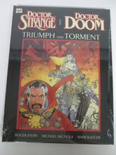 Doctor Strange and Doctor Doom Triumph and Torment  GN by Stern, Mignola & Badger Sealed HC