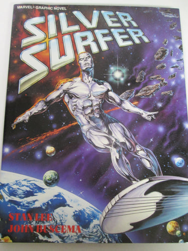 Silver Surfer GN by Stan Lee & John Buscema 1988 HC
