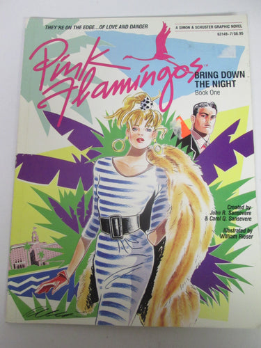 Pink Flamingos Bring Down The Night Book One GN 1987 PB