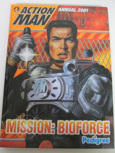 Action Man Annual 2001 Hasbro Mission: Bioforce 2000 HC