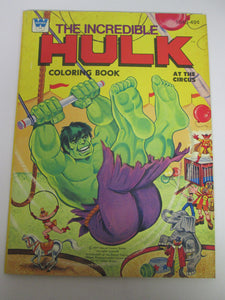 Incredible Hulk Coloring Book At The Circus 1977