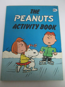 Peanuts Activity Book Charlie Brown 1979 PB