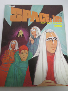 Space: 1999 Cut and Color Book 1975 PB