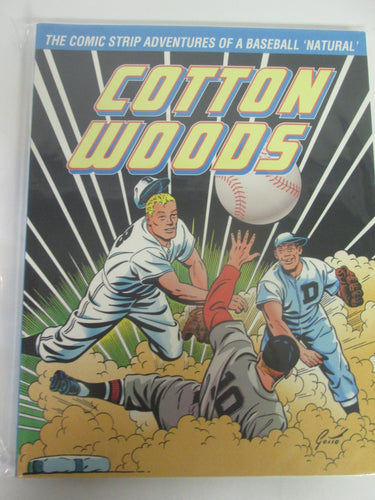 Cotton Woods Comic Strip Adventures of a Baseball 'Natural' by Ray Gotto PB
