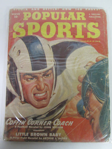 Popular Sports Magazine Pulp Vol 22 #1 Winter 1951
