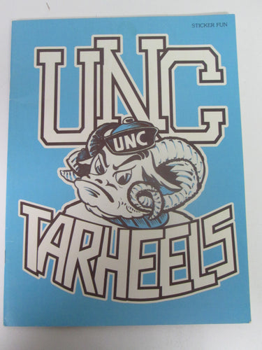 UNC Tarheels Sticker Fun University of North Carolina