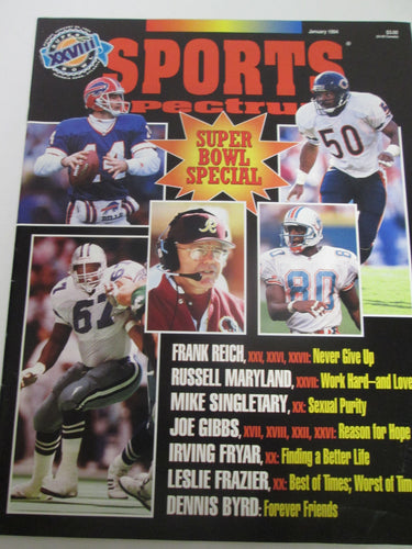 Sports Spectrum Magazine Vol 8 #1 Jan 1994 Super Bowl XXVIII