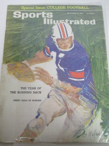 Sports Illustrated Magazine The Year of the Running Back Sep 21 1964