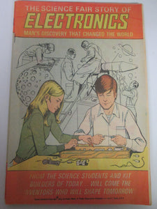 The Science Fair Story of Electronics Comic Book 4th Edition 1975