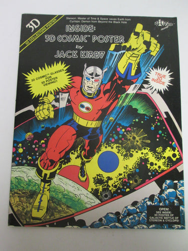 3D Cosmic Poster by Jack Kirby 1982