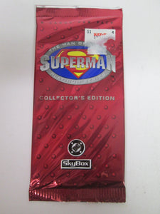 Superman Platinum Series Collector's Edition Skybox Card Pack 1994