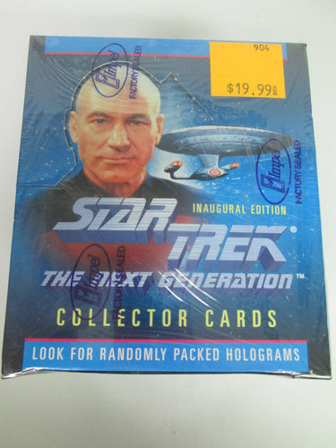Star Trek The Next Generation Inaugural Edition Collector Cards Sealed Box 1992