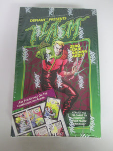 Defiant Presents Plasm Trading Cards Sealed Box 1993