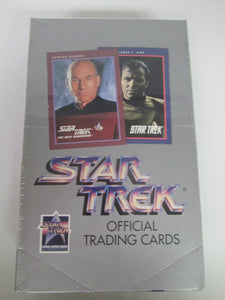 Star Trek Official Trading Cards Sealed Box 1991