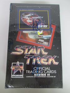 Star Trek Official Trading Cards Series II Sealed Box 1991