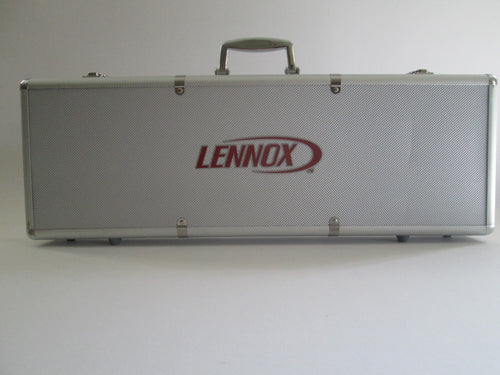 Lennox Poker Chip Set with Metal Case with handle