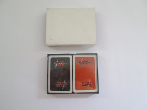 DT&I double set of Playing Cards sealed