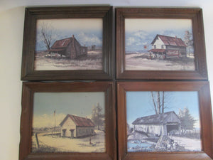 Huey J Theus 4 Framed Prints The Past Remembered