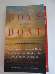 The Boys in the Boat by Daniel James Brown 2013 PB