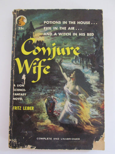 Conjure Wife by Fritz Leiber 1953 PB