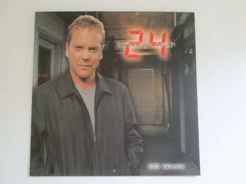 24 Twenty Four 2005 Calendar Keifer Sutherland Cover
