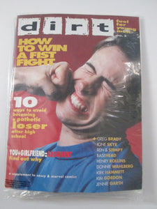 Dirt Magazine #2  w/ Cassette Tape & Spectaculars Spiderman #195 Sealed