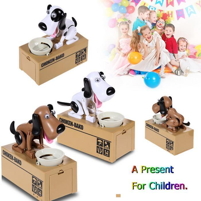 Dog Piggy Bank Storage For Kid Gift
