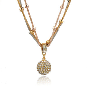 Fashion Gold Necklaces Long Chain