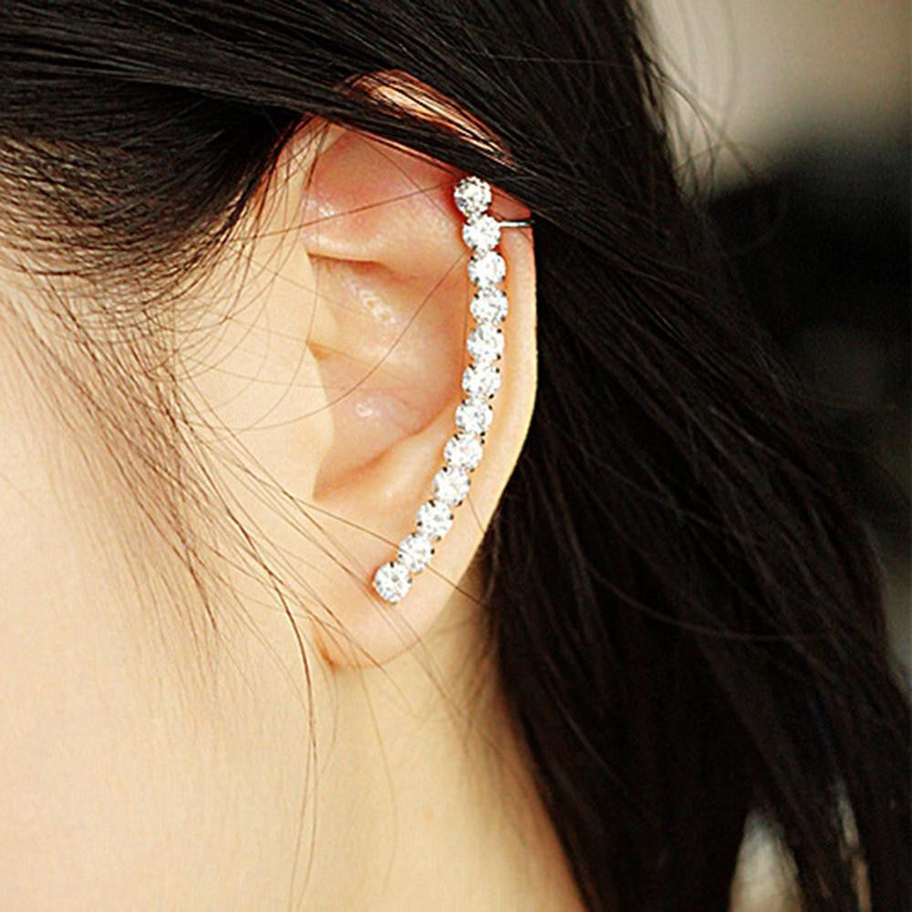 iCrystal Ear Cuff Earring