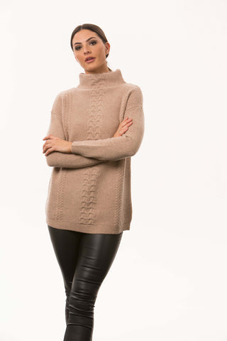 Bridge and Lord Centre Cable Sweater