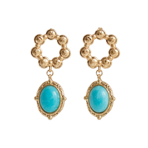 Bling Bar Ascoli Stone Earings