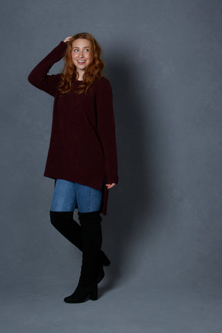 Bridge & Lord Short Front Tunic Knit
