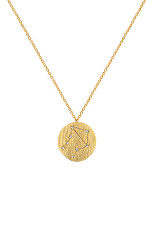 Zahar Libra Zodiac Necklace