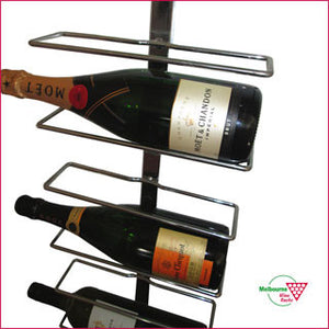 Cradle 9 bottle display rack