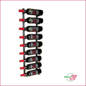 Wall Rack - 9 bottle – single