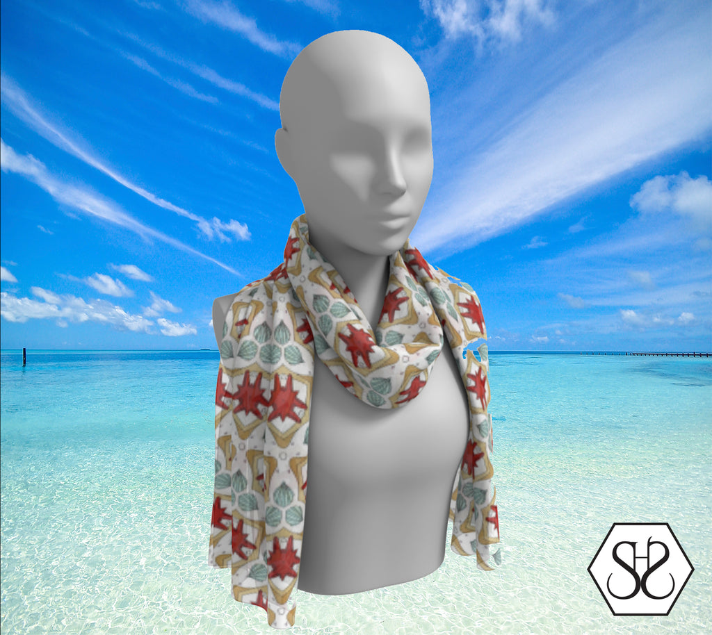 SHS Boutique Beachprecious Silk Scarf - Long